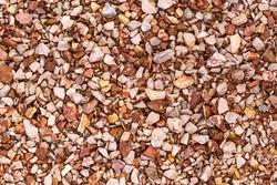 Gravel texture or gravel background for design. Small gravel texture or gravel background. Real grunge texture background and small stone