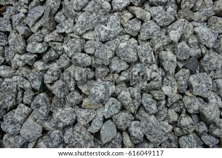 Gravel used in construction #616049117