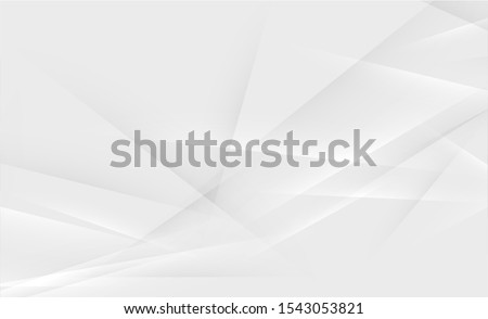 Gray abstract background for designers. Advertisement banner with abstract shapes.  Foto d'archivio ©