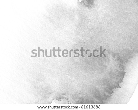 gray abstract watercolor background design