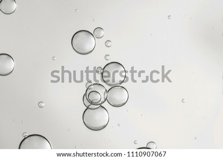 Gray air bubbles in a small overlapping group. #1110907067