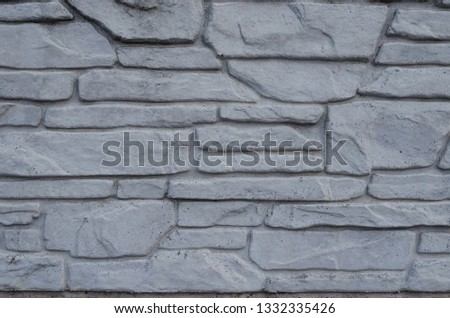 Gray background. gray texture. gray fence #1332335426
