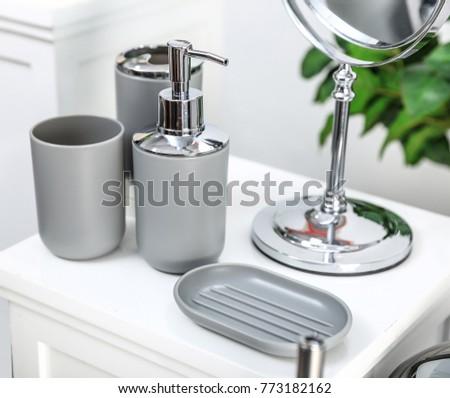 Gray Bathroom Accessories