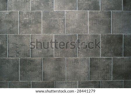 Bathroom tile design with beige and gray color | HomeDosh