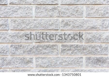 Gray brick. Gray wall