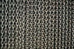 gray chain wall