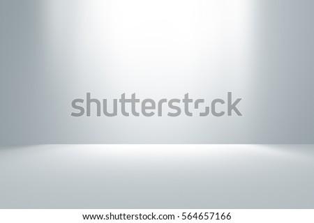 gray empty room studio gradient ...