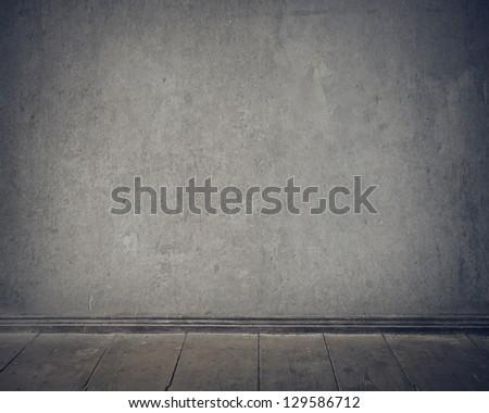 gray empty wall
