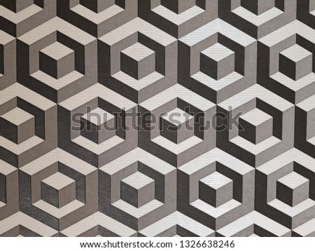 gray geometric figures background, geometric shapes, abstract background, patterns for design #1326638246