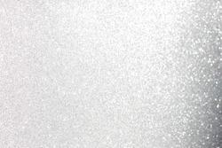 Gray glitter background, lens bokeh effect, grey spot backdrop, blur bubble banner, abstract soft circle dot scene