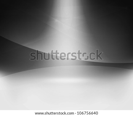 Gray Glow Abstract Background