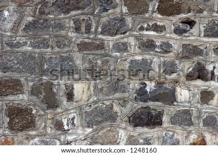gray granite stone wall texture background