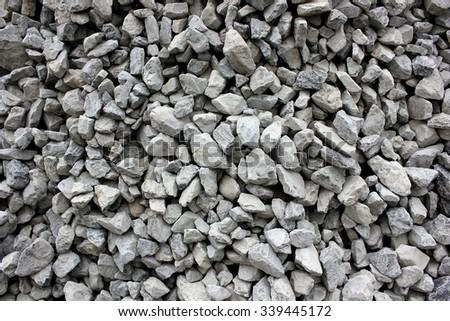 Gravel in various sizes