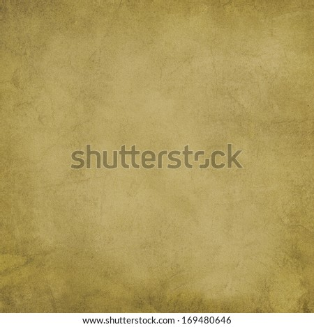 Gray green sandstone parchment background texture.