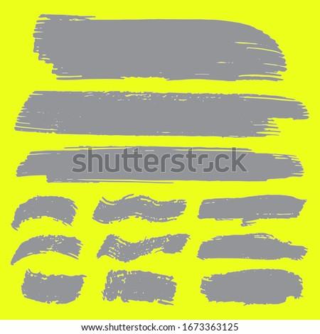 Gray Grunge Design. Brush Painting. Watercolor Background. Distress Banner. Dirty Art Graffiti. Dirty Brushes. Grunge Brushes. Brushed Banner. Distress Logo. Distress Brushes. Brush Banner.
