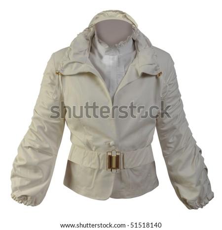 gray jacket - stock photo