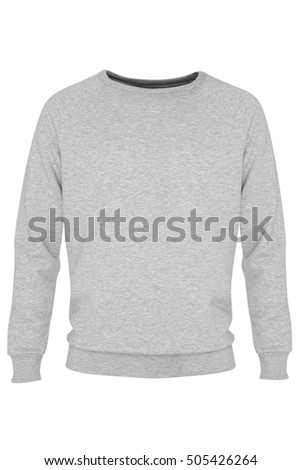 Gray, long sleeve sweatshirt