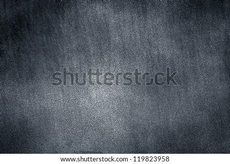 Gray metal plate background texture. Dark edged