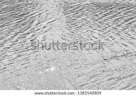 Gray ocean surface water with beautiful small waves