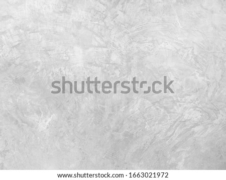 gray pattern of concrete surface, cement painting for background in black and white colors, finishing backdrop on masonry wall.