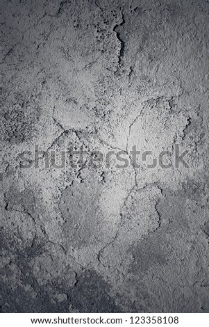 gray plaster concrete wall background