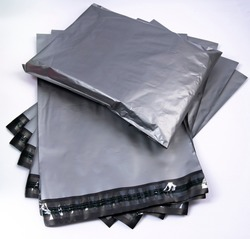 Gray Poly mailer for packing