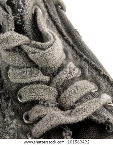 Gray Shoe Details