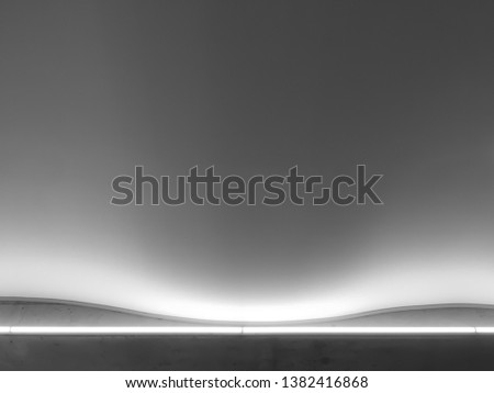 Gray simple abstract. simple abstract architectural background. Up lighting abstract. Modern simple background.  #1382416868