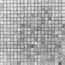 gray squared pavement texture