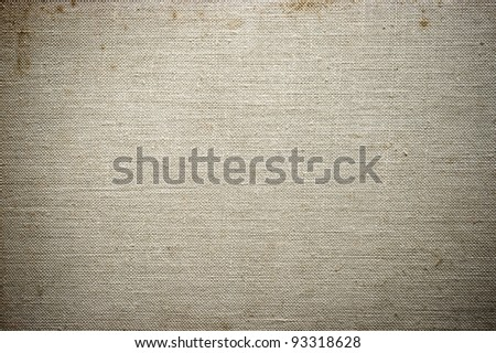 Gray stained fabric texture for background