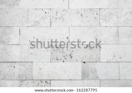 Gray stone wall closeup background photo texture #162287795