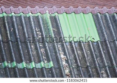 Gray tile, Gray roof, Gray roof tile
