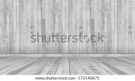gray wall and floor wood background