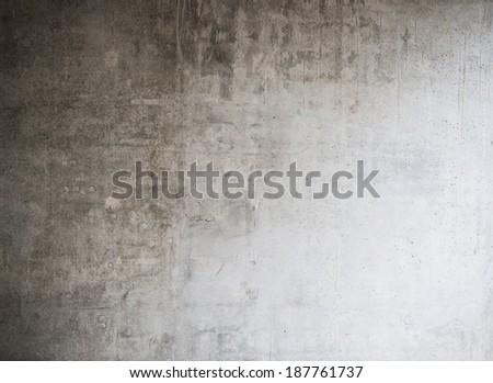 Gray wall background, concrete texture