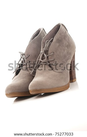 gray womens shoes