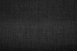 Gray woven fabric plastic texture pattern for background