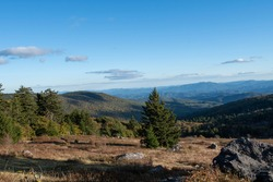 Grayson Highlands Park from the Appalachian Trail
