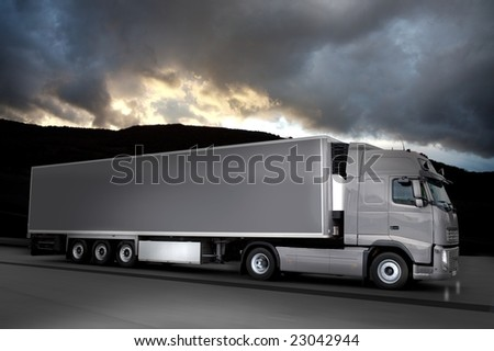 grease semi truck
