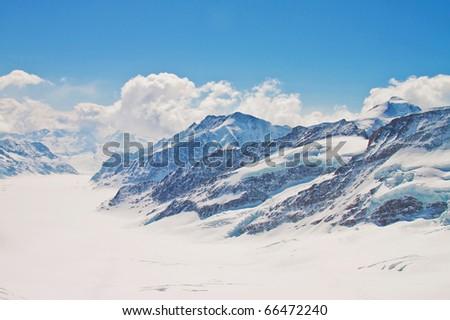 Great Aletsch Glacier, Jungfrau - Jungfraujoch Switzerland