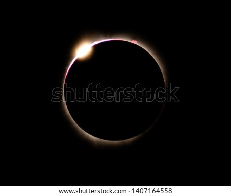 Great American Eclipse 2017, solar eclipse, diamond ring, Oglala National Grassland, August 20, 2017 #1407164558
