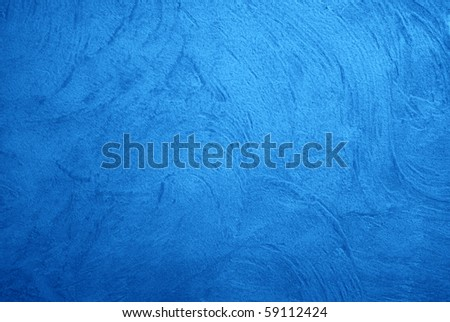 Great background made with a texture of a blue wall