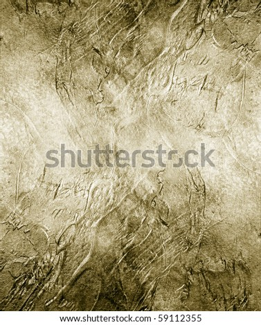 Great background made with a texture of a golden wall