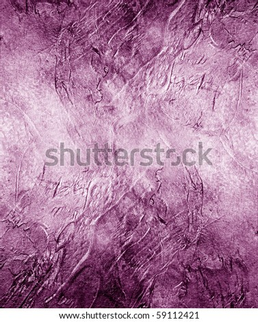 Great background made with a texture of a violet wall