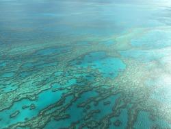 Great Barrier Reef Australia Ariel View