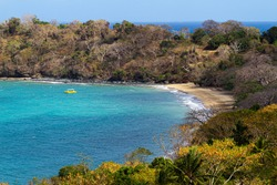 Great beach in Mayotte for relaxation.