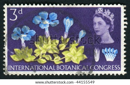 Great Britain - Circa 1964: International Botanical Congress ...