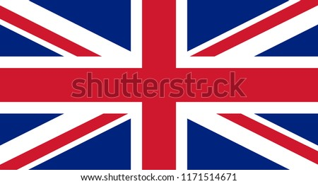 Great Britain flag background Foto stock ©