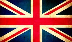 great britain flag grunge texture