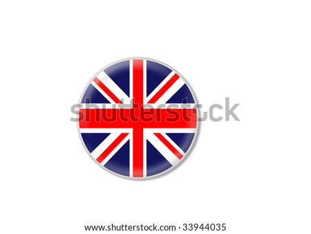 great britain flag sign
