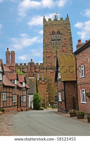 Great Budworth village